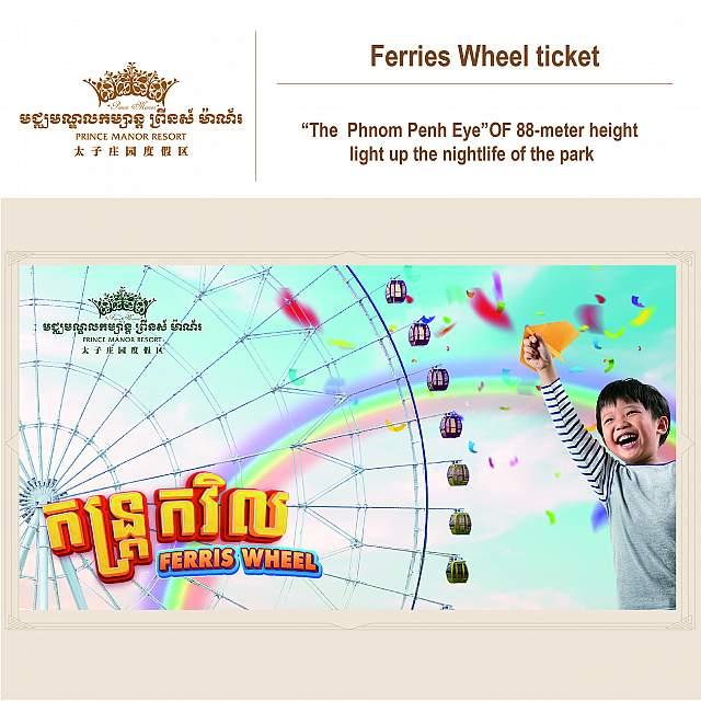Ferries Wheel ticket