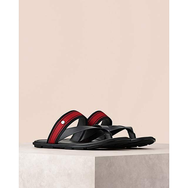 Stripe Thong Sandals