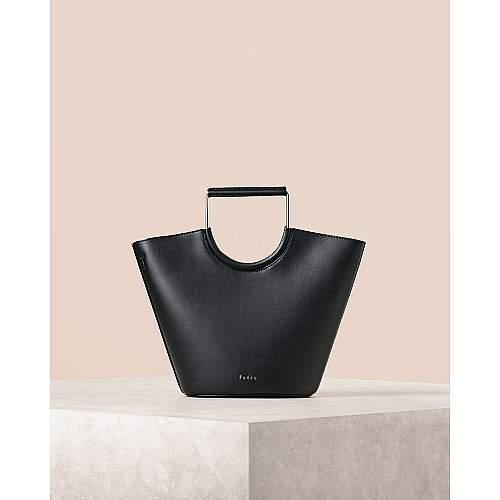 Pearlized Bucket Bag