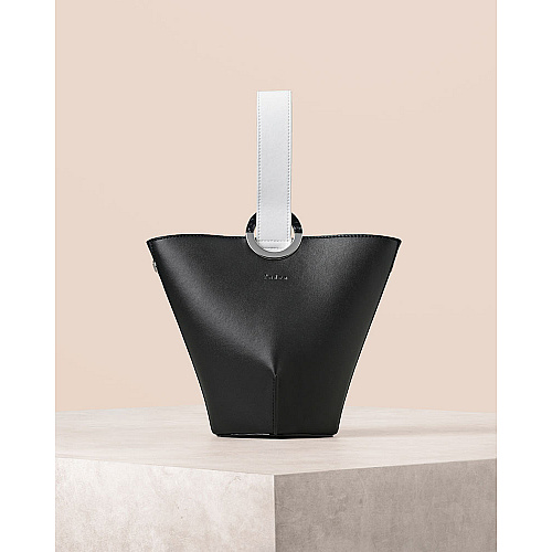 Mono Handle Bucket Bag