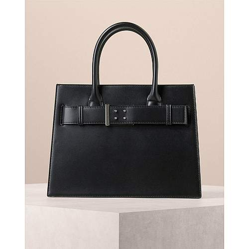 Oversized Buckle Tote
