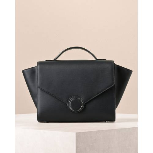 Trapeze Leather Handbag