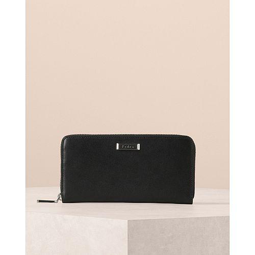 Zipped Long Wallet