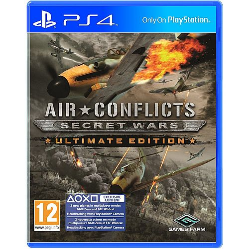 PS4 AIR CONFLICTS SECRET WARS