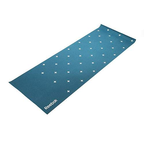 Double sided 4mm Yoga Mat - Stripes - Green