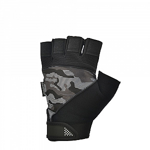 Short Finger Performance Gloves -  Camo Print (M)