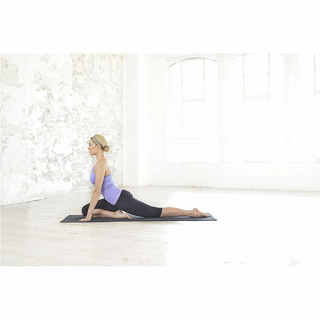 Hot Yoga Mat- Black