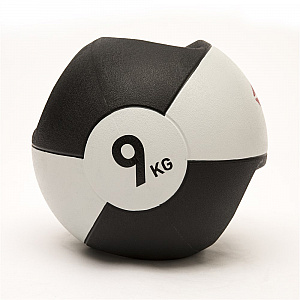 Double Grip Med Ball - 9Kg