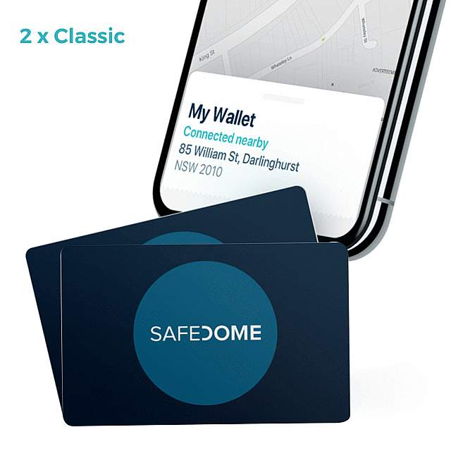 Safedome - Classic Bluetooth Tracker x2