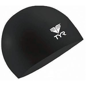 Junior Solid Silicone Cap - Black