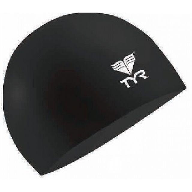 Junior Solid Silicone Cap - Black