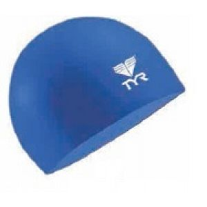Junior Solid Silicone Cap - Navy