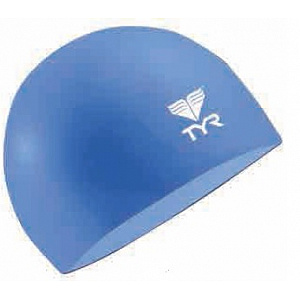 Junior Solid Silicone Cap - Baby Blue
