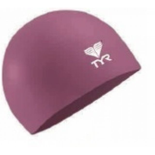 Junior Solid Silicone Cap - Magenta