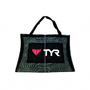 Horizontal Mesh Bag - Black