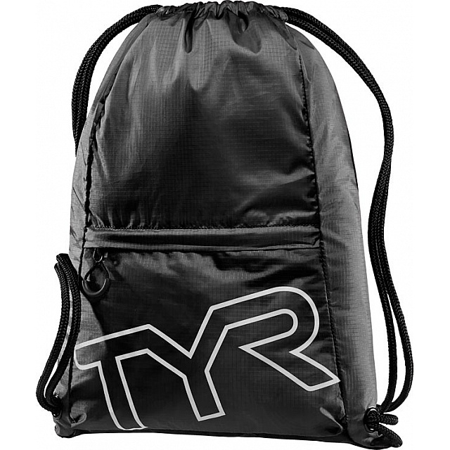 Draw String Backpack - Black