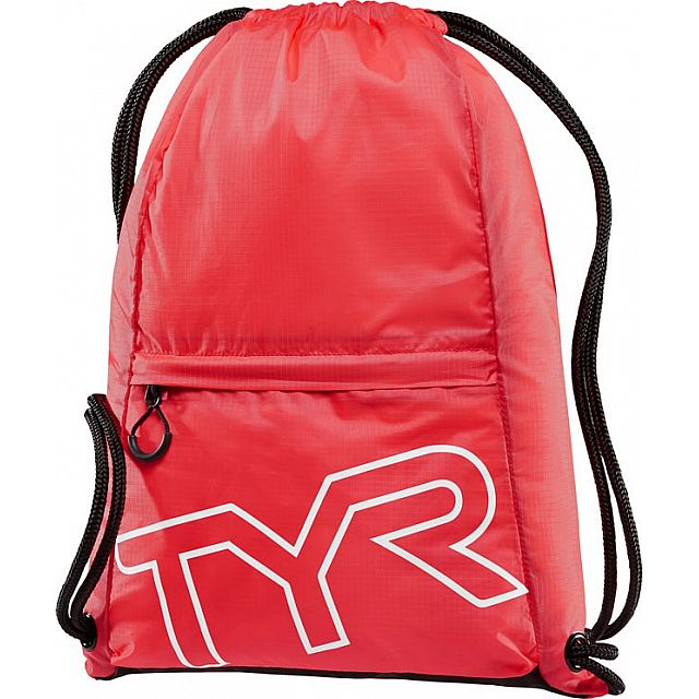 Draw String Backpack - Red