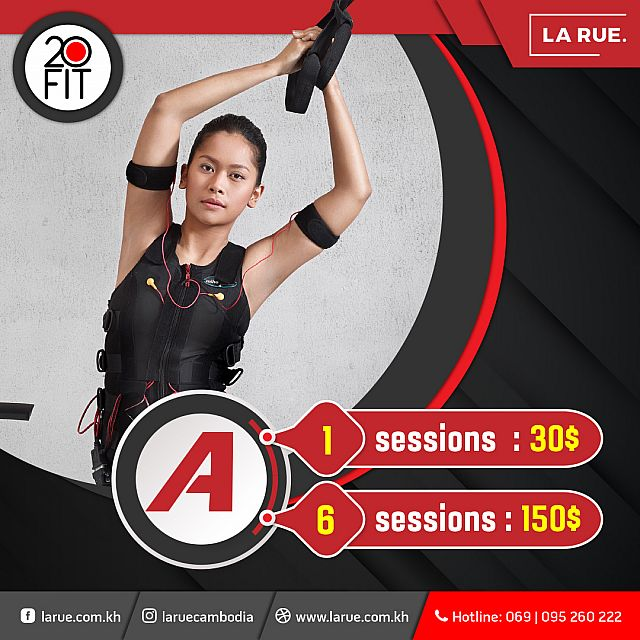 20 Fit EMS Session A Package
