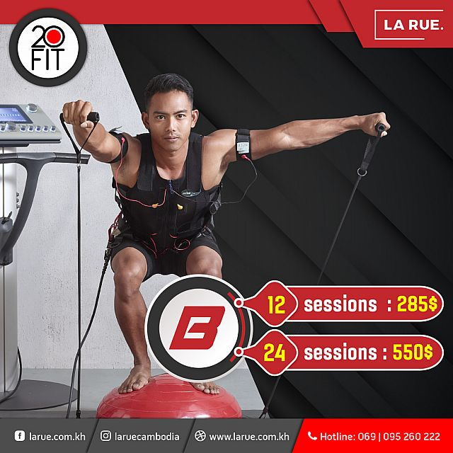 20 Fit EMS Session B Package