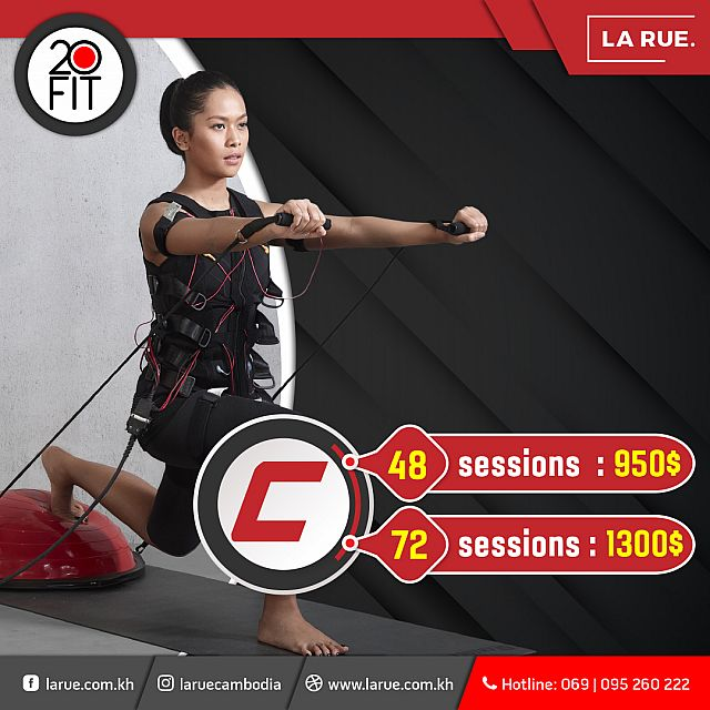 20 Fit EMS Session C Package