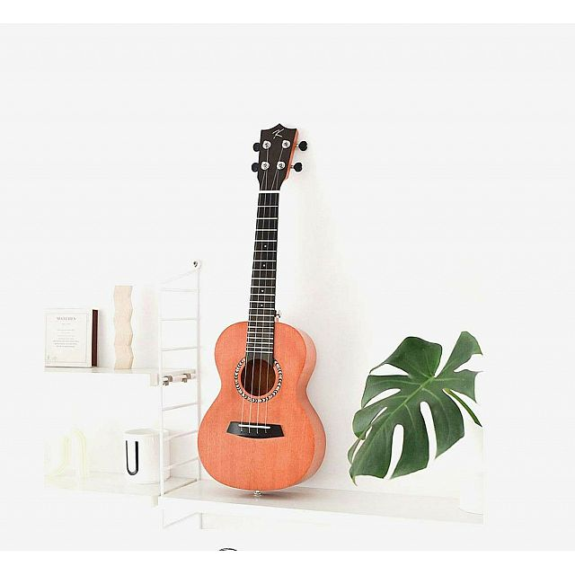 Badamyalam ukulele kuc-200 made with mahogany wood +...