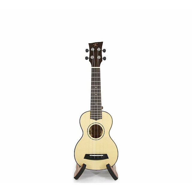 Badamyalam ukulele kus-28D made with Engelman Spruce...
