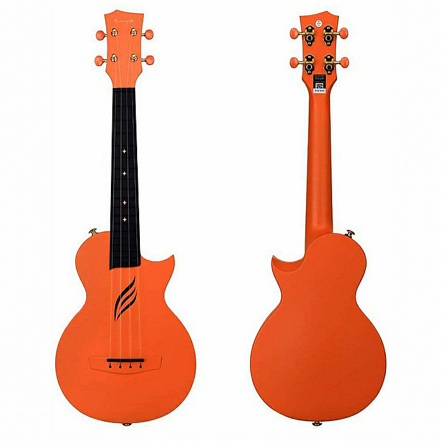 BADAMYALAM ukulele Nova Orange waterproof +bag+capo+...