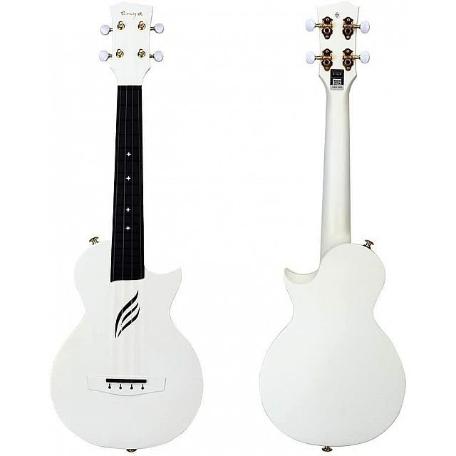 BADAMYALAM ukulele Nova white waterproof +bag+capo+s...