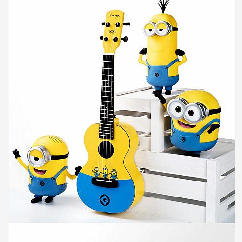 BADAMYALAM Minions ukulele MU2 +bag+ strap+box,180$