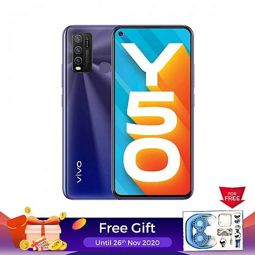 vivo Y50 (8GB+128GB) 5000mAh available 18th April