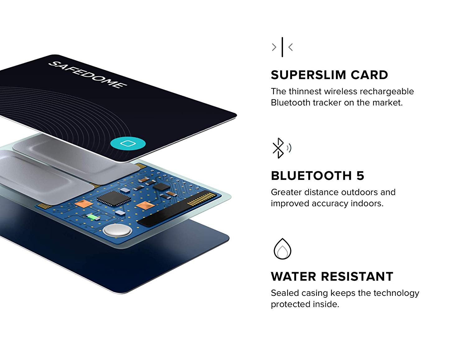 Buy Safedome - Recharge Bluetooth Tracker Online | La Rue